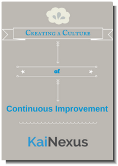 Creating a Culture of Continuous Improvement