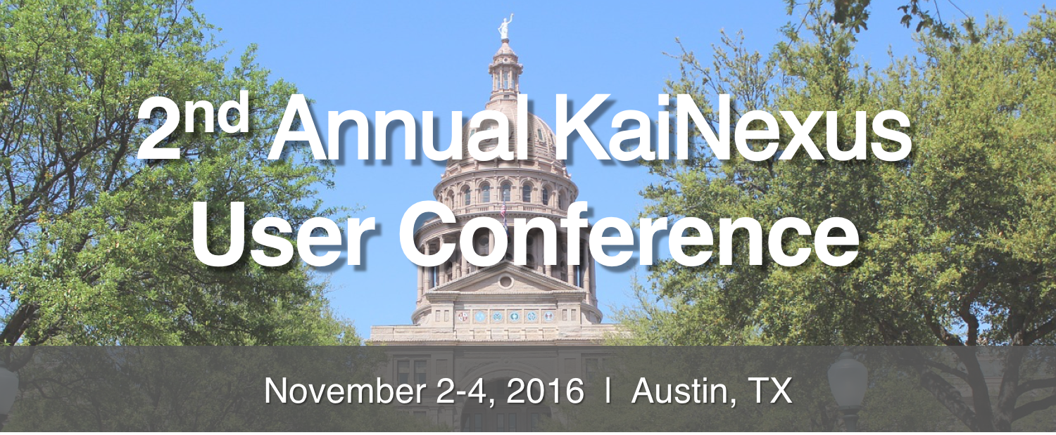 2nd Annual User Conference