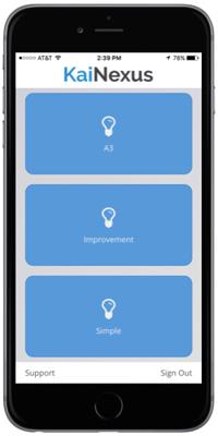iPhone Idea Entry