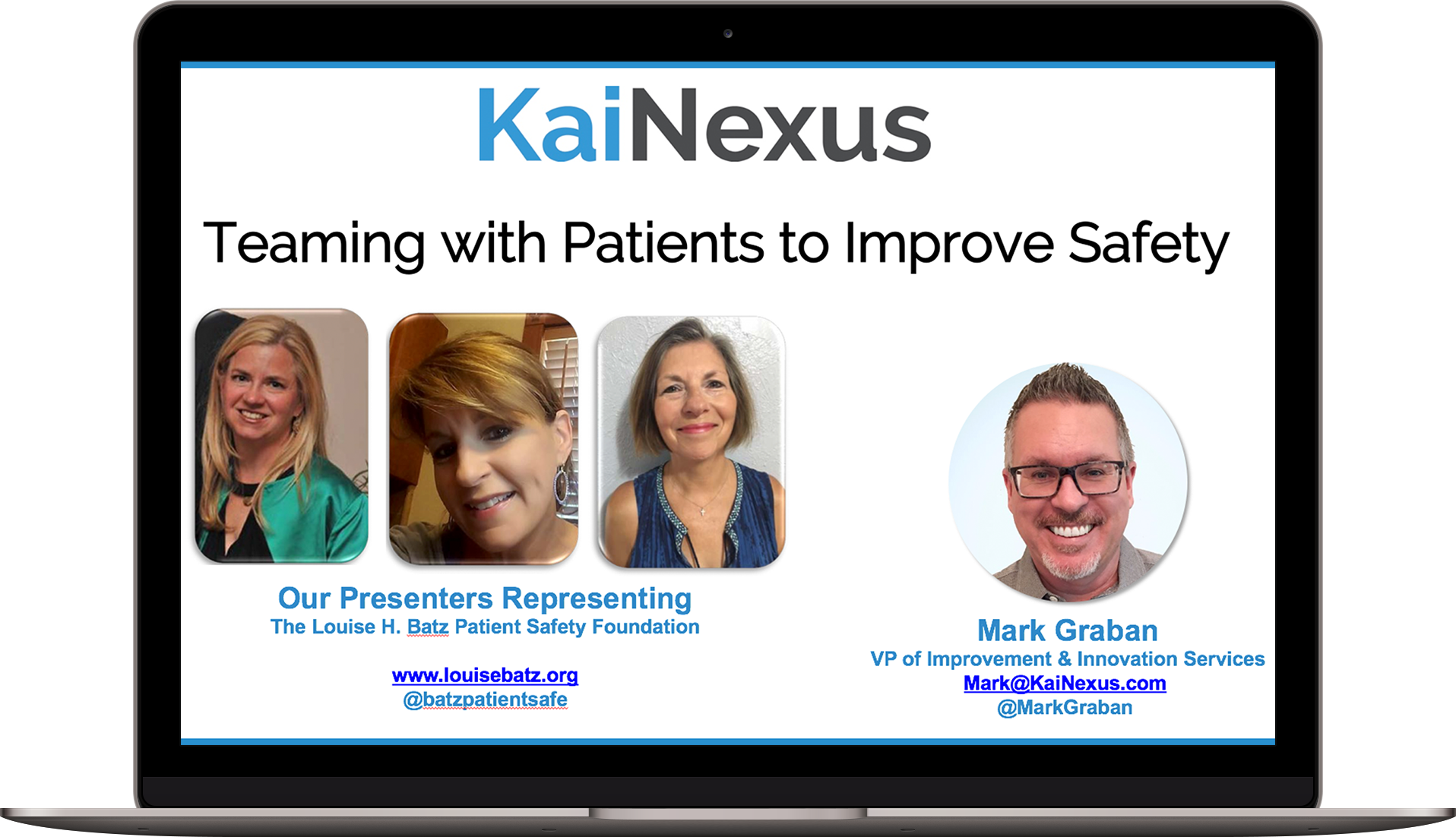 Teaming with Patients to Improve Safety
