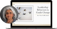 Leadership Behaviors to Guide Change Webinar Cover