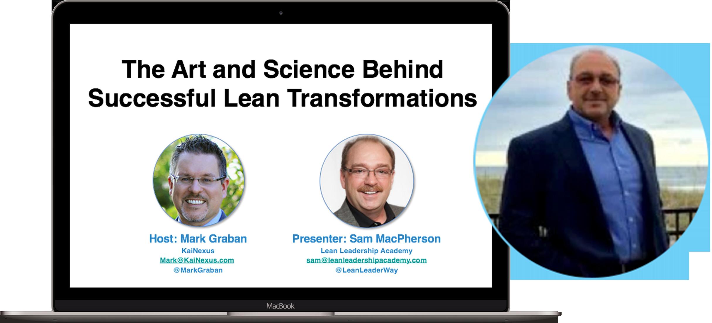 Lean Transformations Webinar