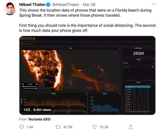Mikael Thalen Tweet