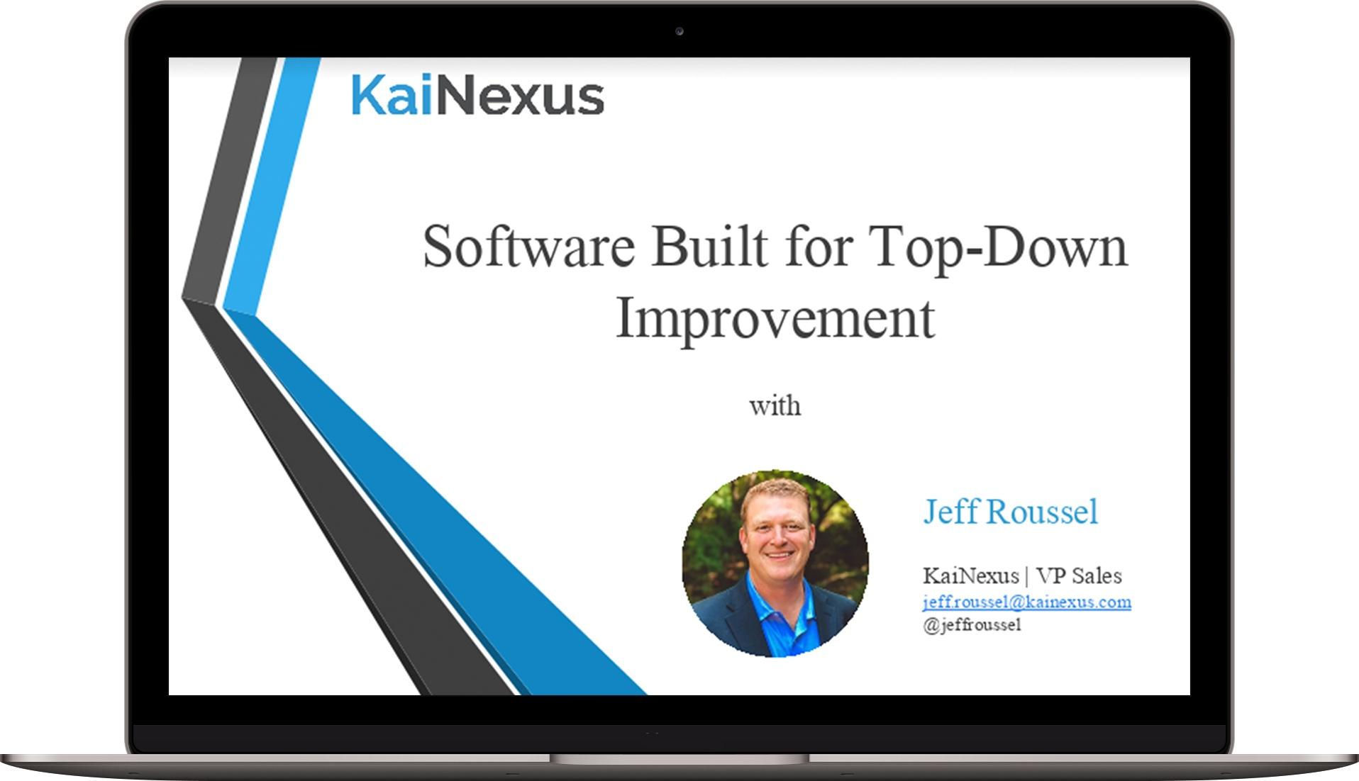 Top Down Improvement Webinar