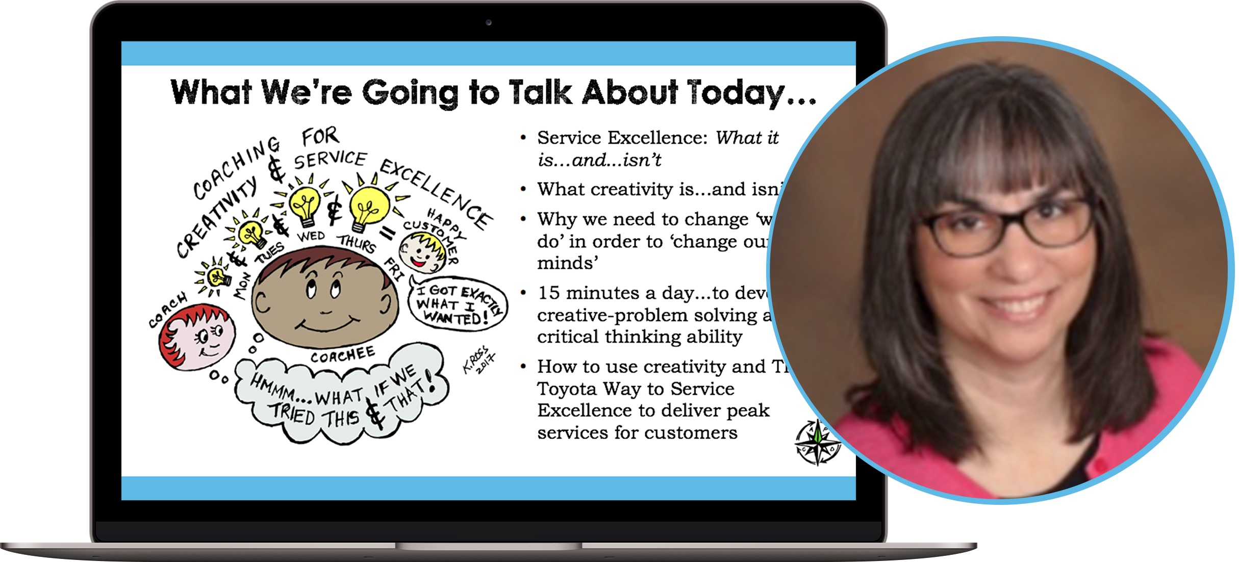 How to Coach for Creativity & Service Excellence