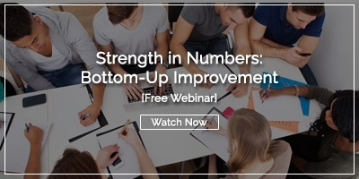 [Watch Now] Bottom-Up Improvement